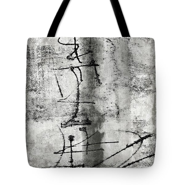 Words On The Wall Tote Bag