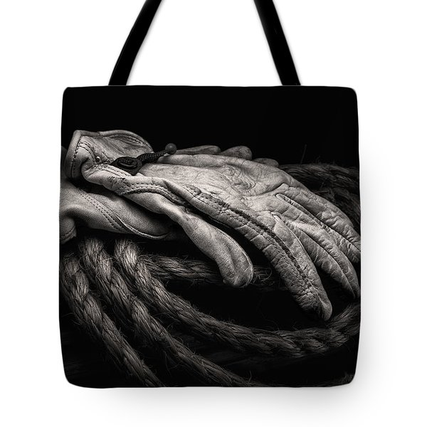 Work Gloves Still Life Tote Bag