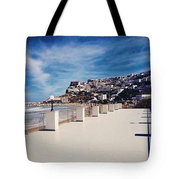 #work #sea #water #peschici #gargano Tote Bag