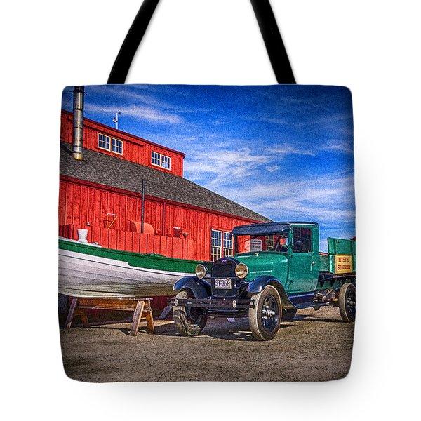Work Truck, Mystic Seaport Museum Tote Bag
