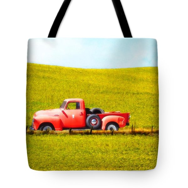 Work Truck Tote Bag
