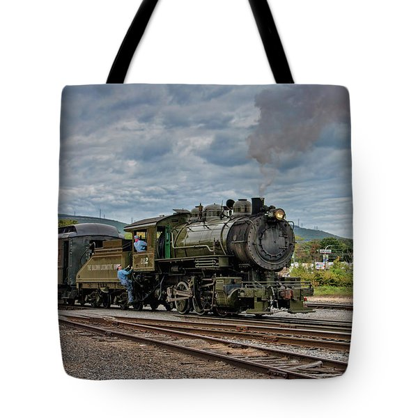 Workhorse At Steamtown Tote Bag