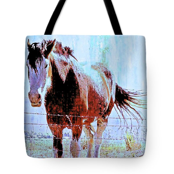 Tote Bag featuring the photograph Workhorse by Cynthia Powell