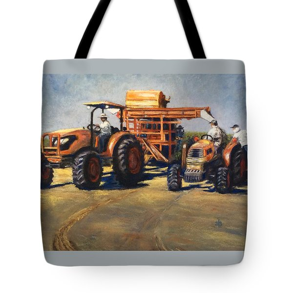 Workin' At The Ranch Tote Bag