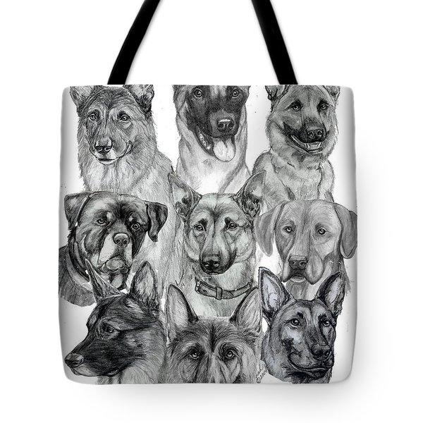 Working Dogs Of Florida Tote Bag