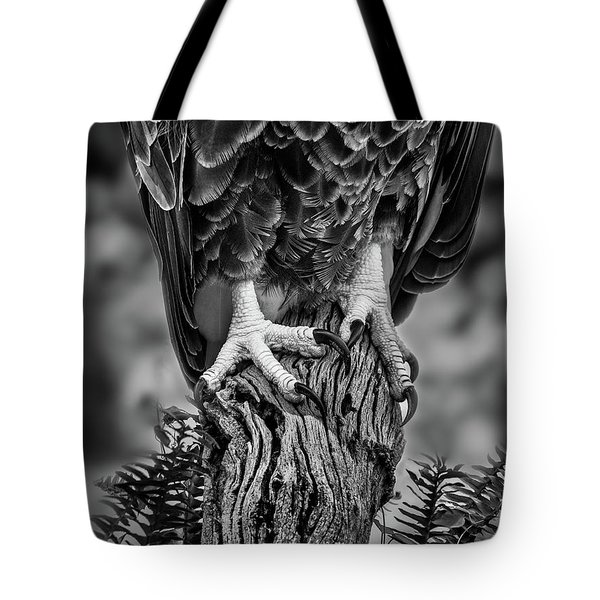 Tote Bag featuring the photograph Working Feet by Steve Zimic