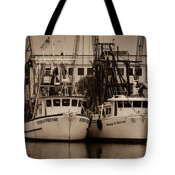 Working From The Creek Tote Bag