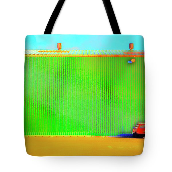 Working Late Tote Bag