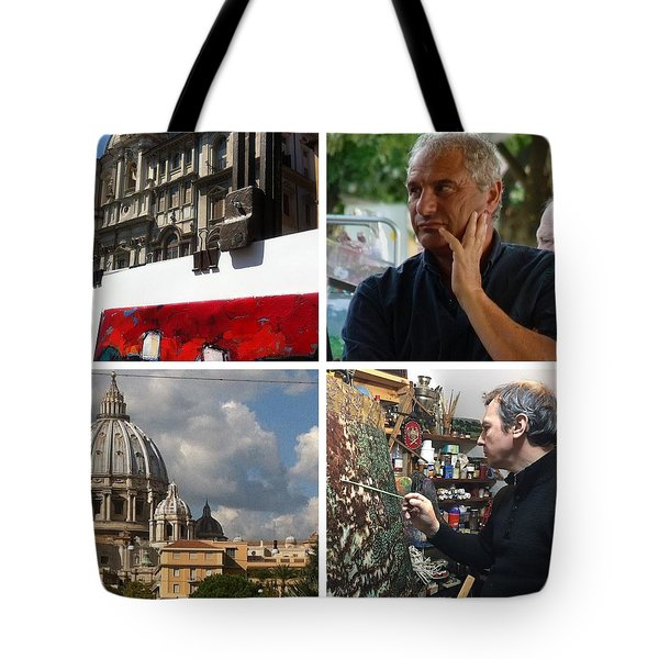 Working On New Work 1 Tote Bag