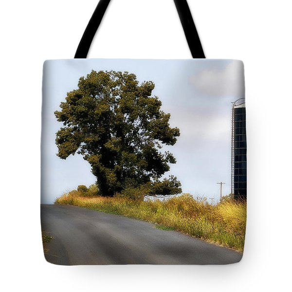 Tote Bag featuring the photograph Working On The Land 0005 by Kevin Chippindall
