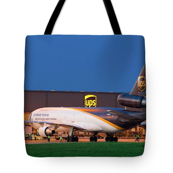 Working The Night Shift Tote Bag