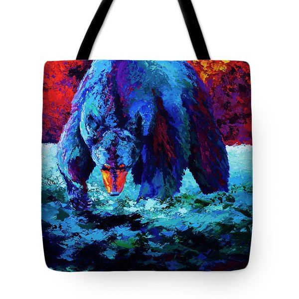 Working The Shallows Tote Bag