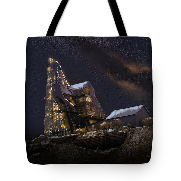 Working Through The Night Tote Bag