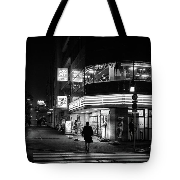 Workout The Night, Tokyo Japan Tote Bag