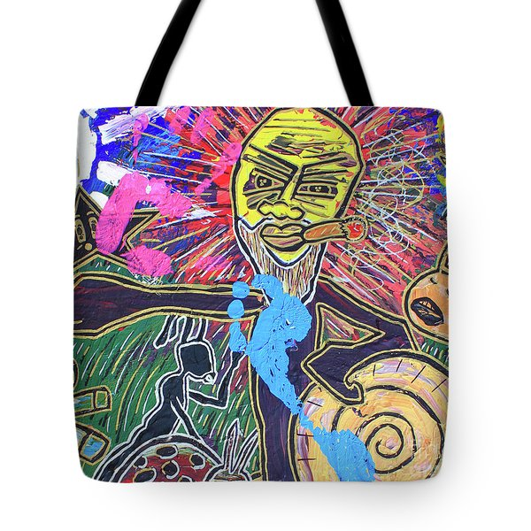 World Buggin Aftermath Tote Bag