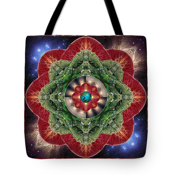 Tote Bag featuring the photograph World-healer by Bell And Todd