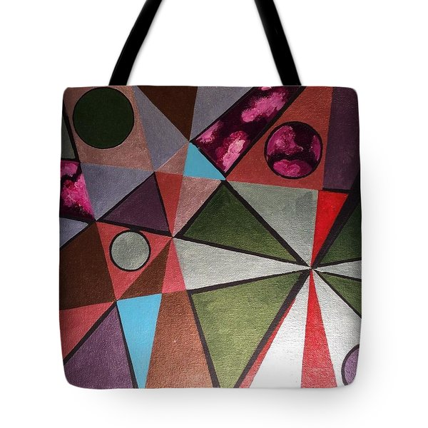 World In Mind Tote Bag