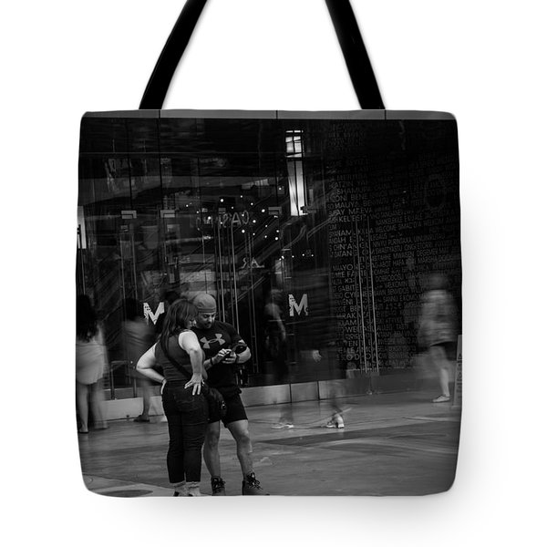 World Is Moving Tote Bag