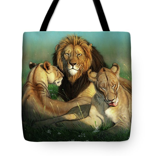 World Lion Day Tote Bag