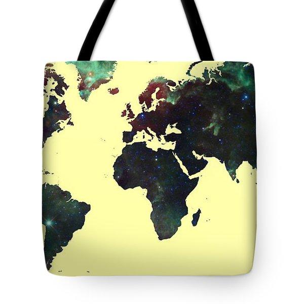 World Map 2 Tote Bag