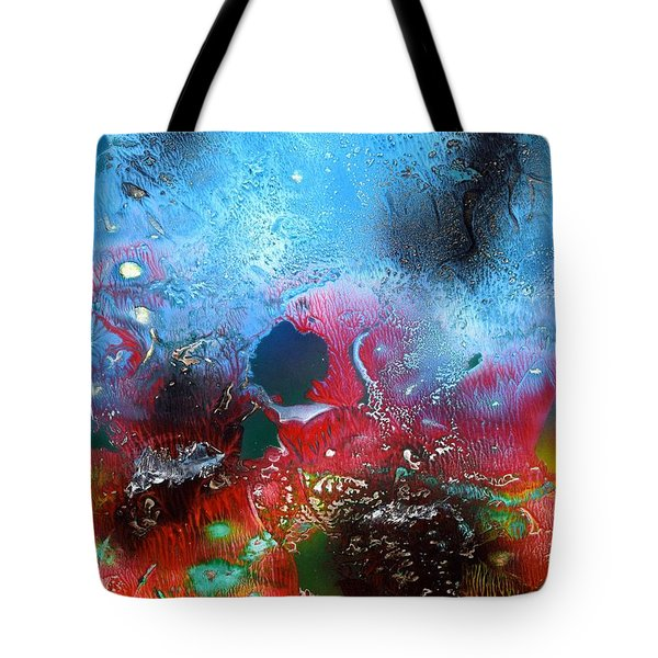 World Of Reefs Tote Bag