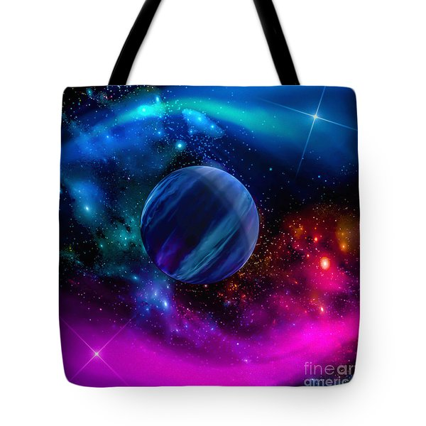 World Of Water Tote Bag by Naomi Burgess
