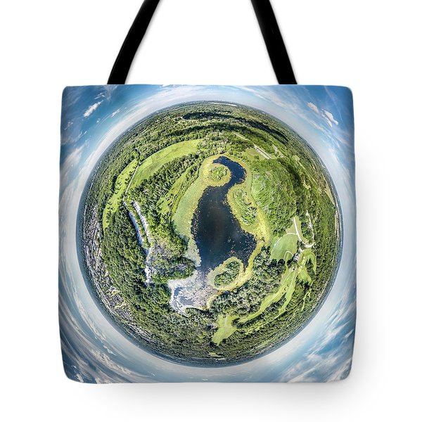 Tote Bag featuring the photograph World Of Whitnall Park by Randy Scherkenbach