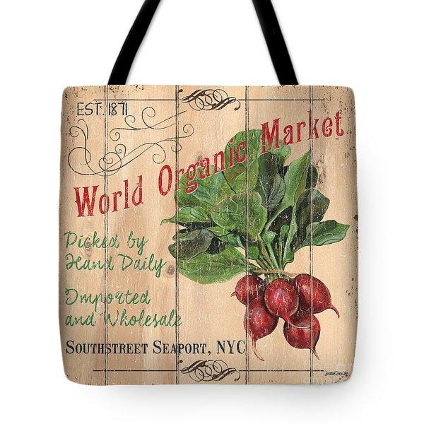 World Organic Market Tote Bag
