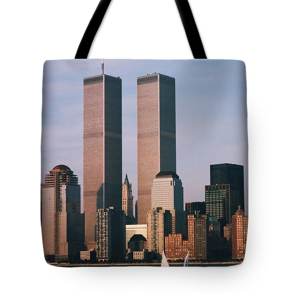 World Trade Center 1989 Tote Bag