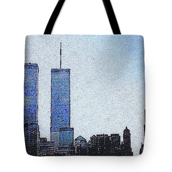 World Trade Center Once Upon A Time... Tote Bag