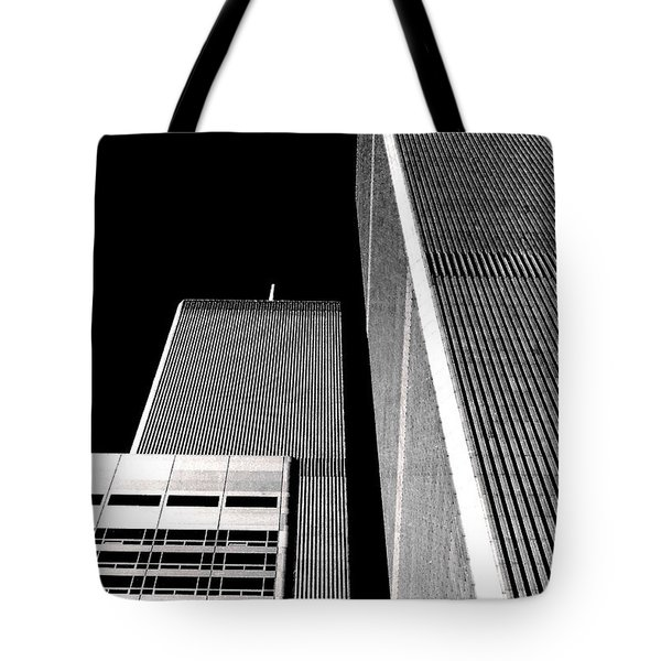World Trade Center Pillars Tote Bag