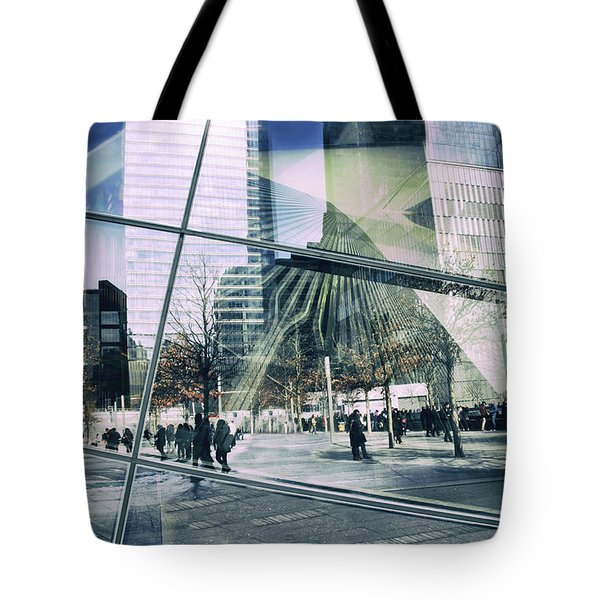 Tote Bag featuring the photograph World Trade  by Jessica Jenney