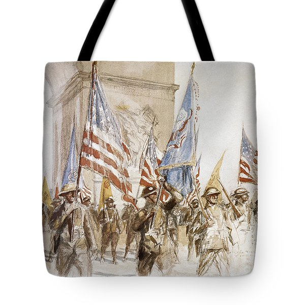 World War I: Victory Parade Tote Bag by Granger