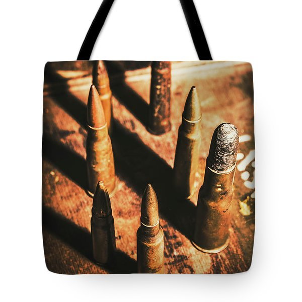 World War II Ammunition Tote Bag
