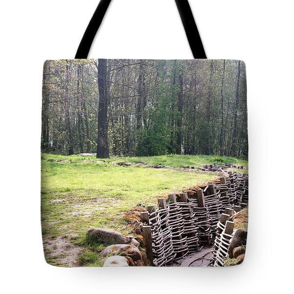Tote Bag featuring the photograph World War One Trenches by Travel Pics