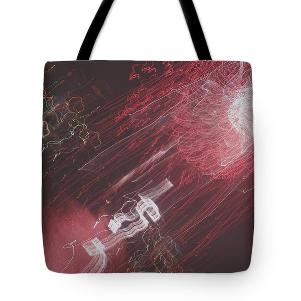 Worlds Colliding Tote Bag
