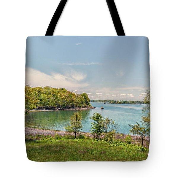 Worlds End Hingham Massachusetts Tote Bag