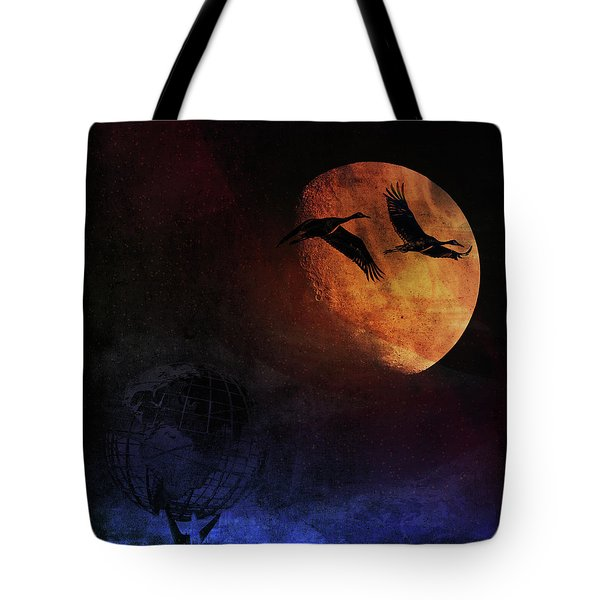 World's Fair Birds Tote Bag