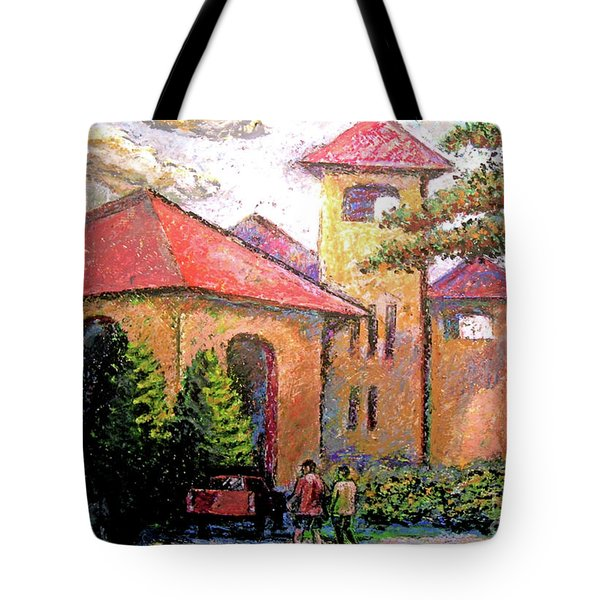 Worlds Fair Pavilion In Forest Park Tote Bag