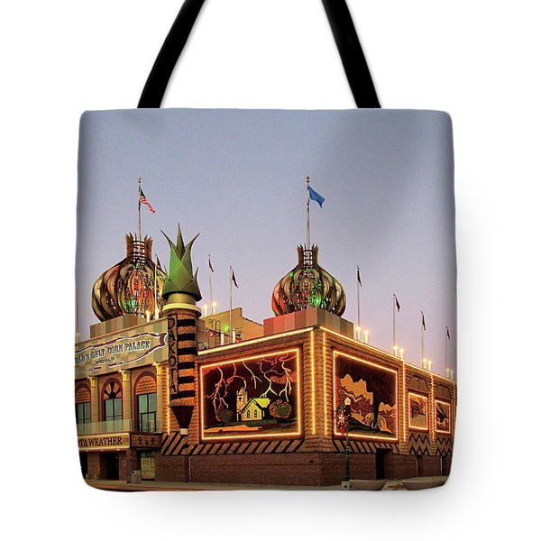 World's Only Corn Palace 2017-18 Tote Bag