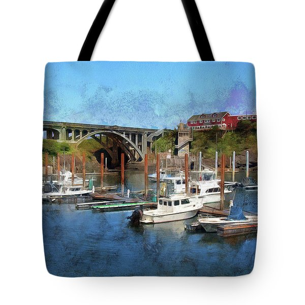 Worlds Smallest Harbor Tote Bag