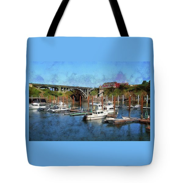 Worlds Smallest Harbor Tote Bag
