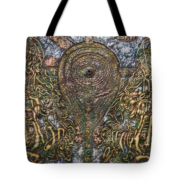 Worlds Visible And Invisible Tote Bag
