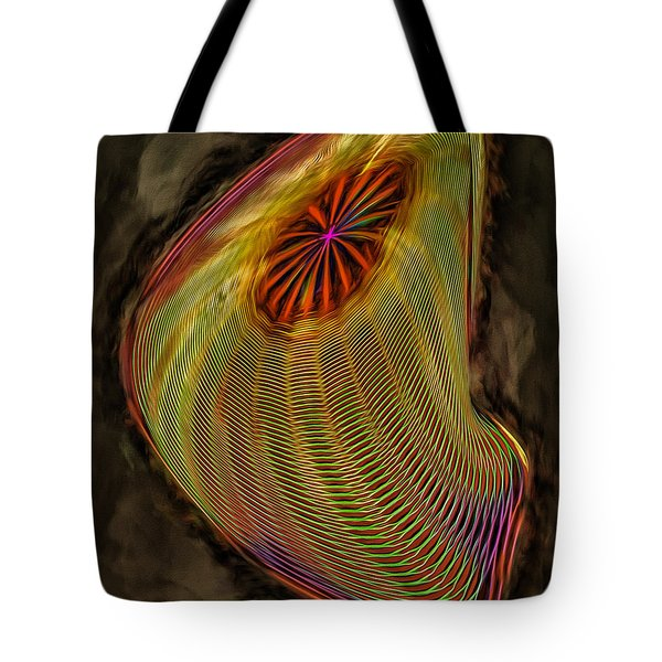 Wormhole In Space Tote Bag by John M Bailey