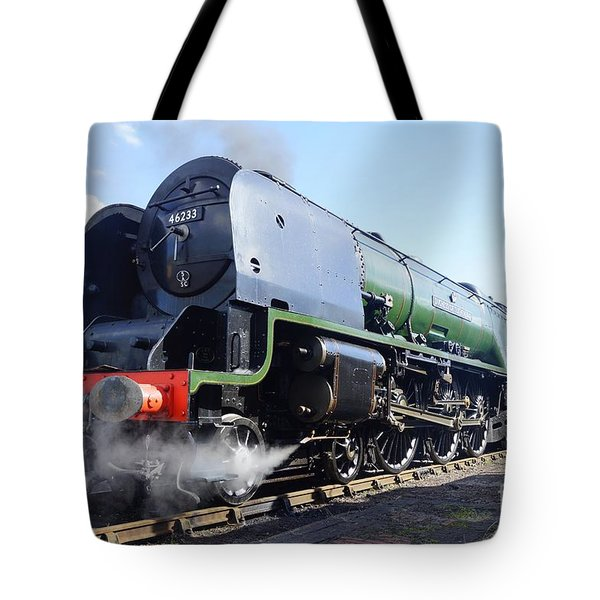 Tote Bag featuring the photograph Worm's Eye View by David Birchall