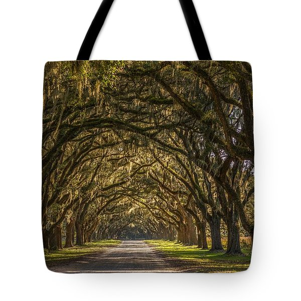 Wormsloe Historic Site Tote Bag