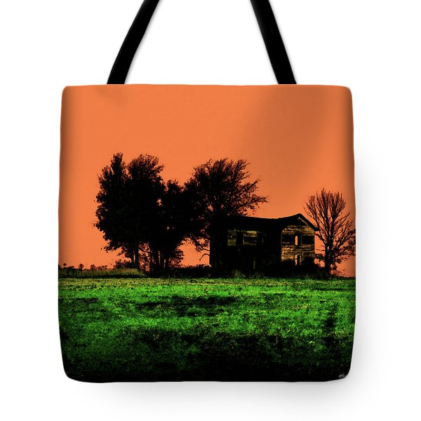 Worn House Tote Bag