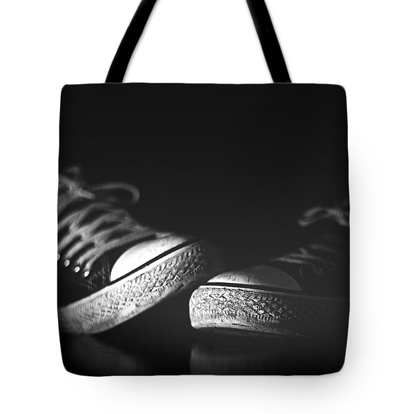 Worn Out Shoes Tote Bag