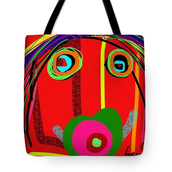Worries Worries All Day Long Tote Bag