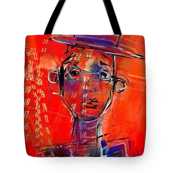 Worrying Numbers Tote Bag